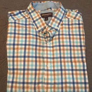 Men's XL button long sleeve shirt